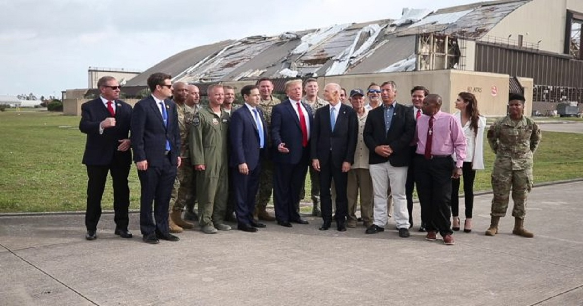 TRUMP TAKING MONEY FROM STORM-DAMAGED FL & PUERTO RICO MILITARY BASES TO PAY FOR BORDER WALL