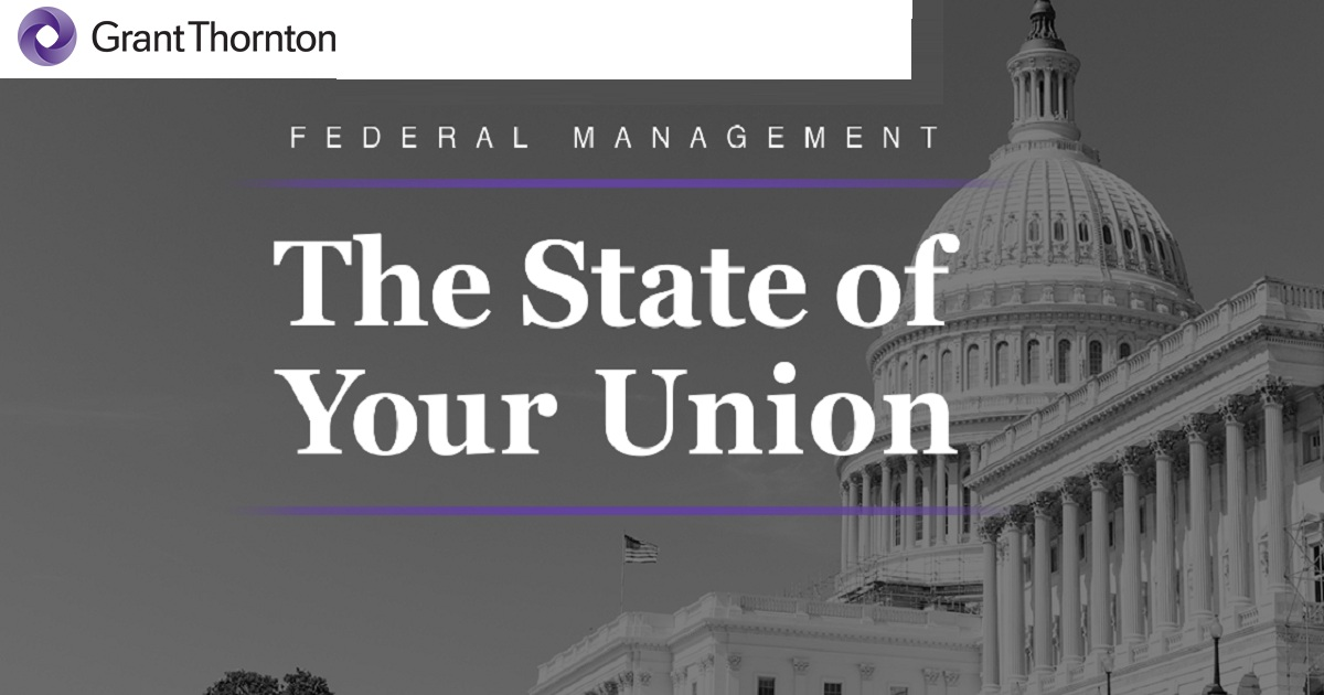 Federal Management: The State of Your Union