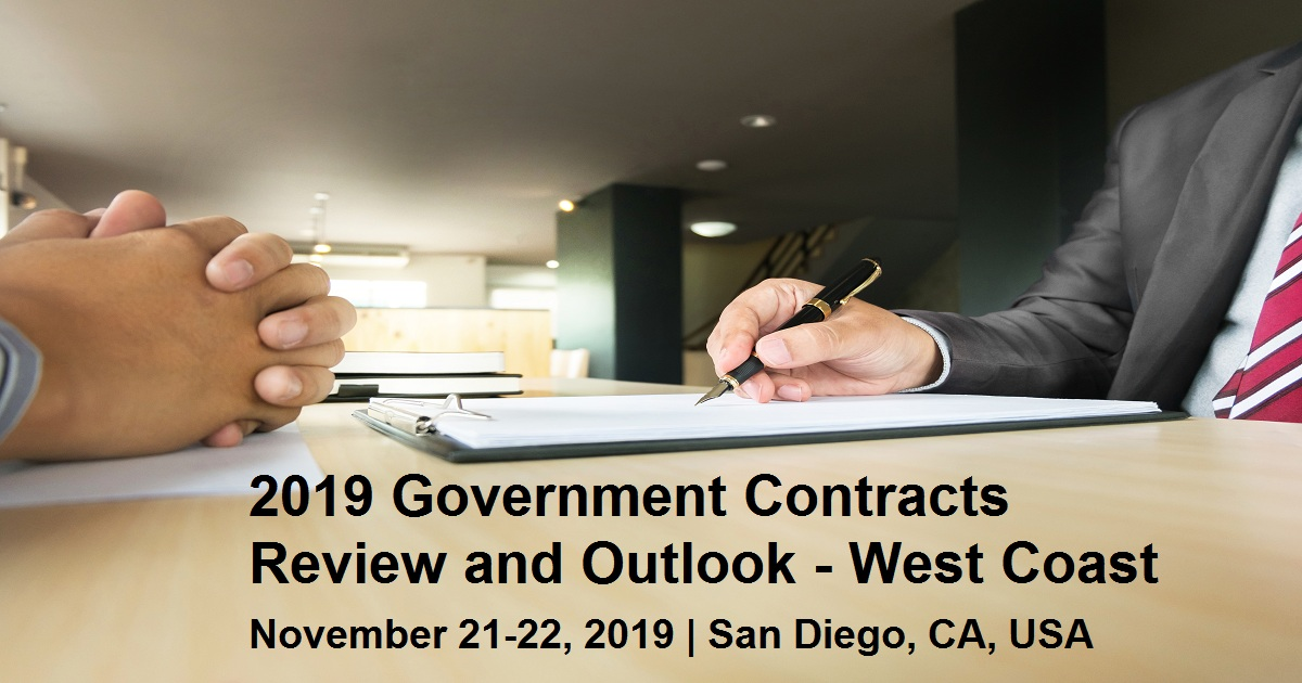 2019 Government Contracts Review and Outlook - West Coast