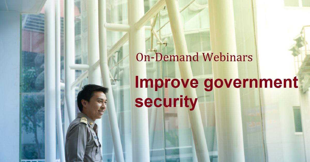 Improve government security