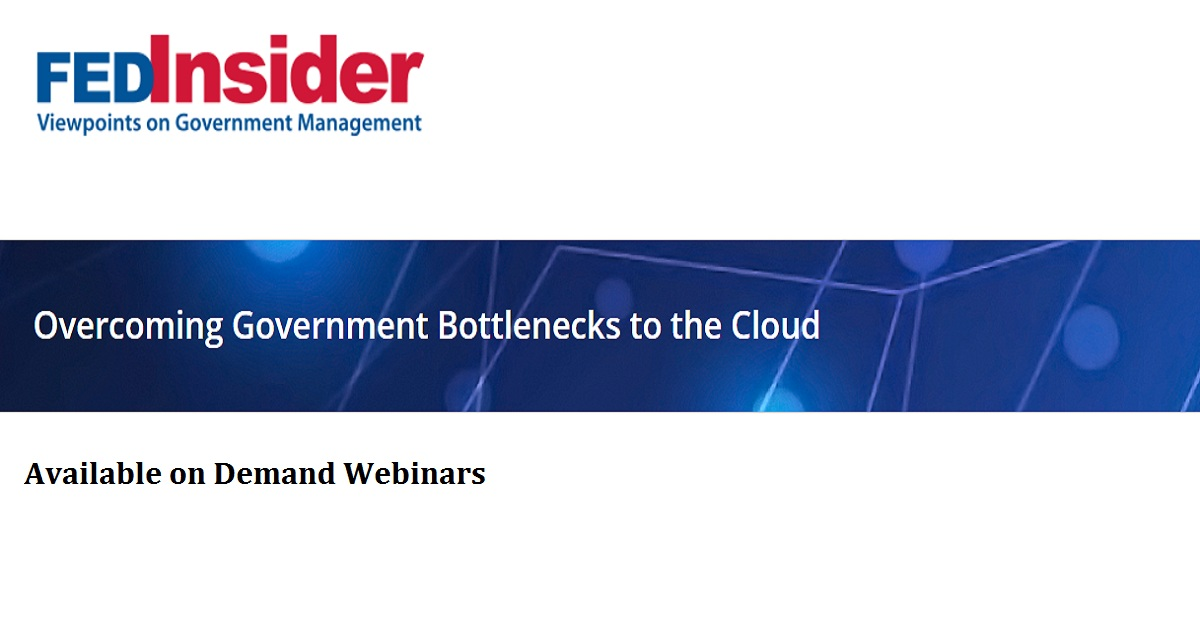 Overcoming Government Bottlenecks to the Cloud