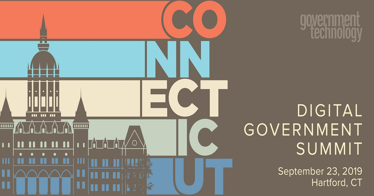 Connecticut Digital Government Summit 2019