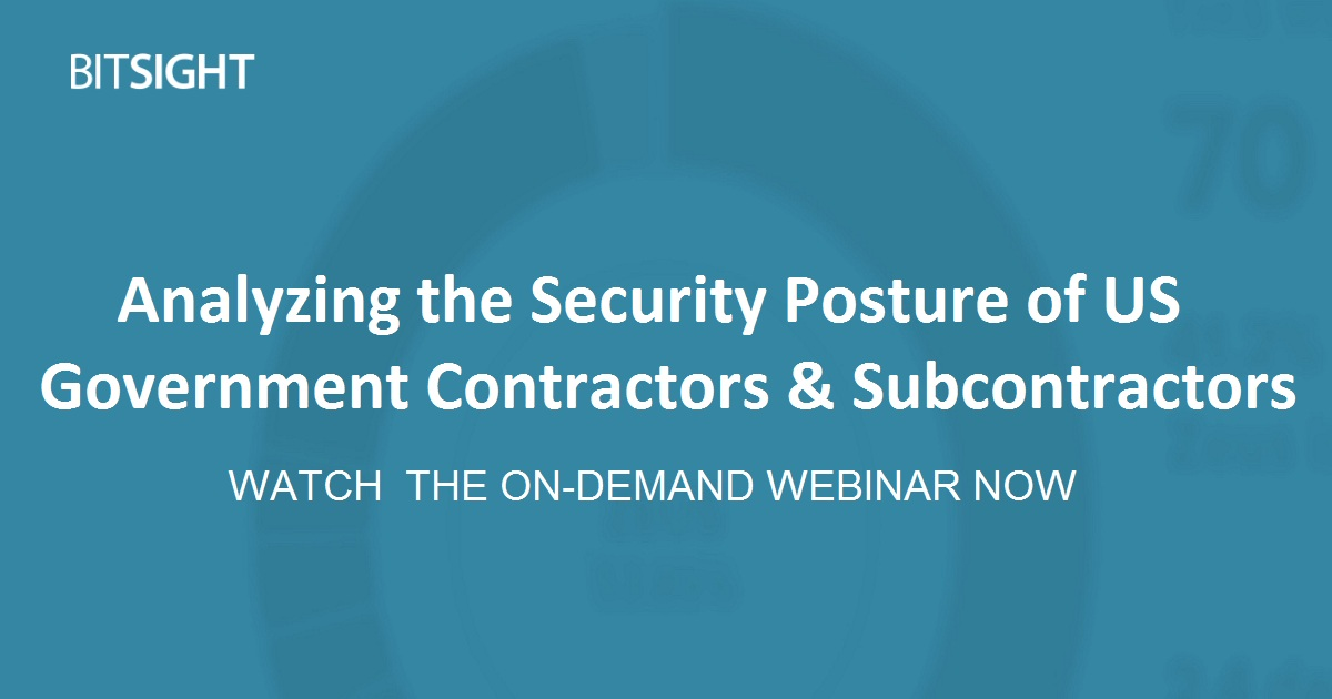 Analyzing the Security Posture of US Government Contractors & Subcontractors