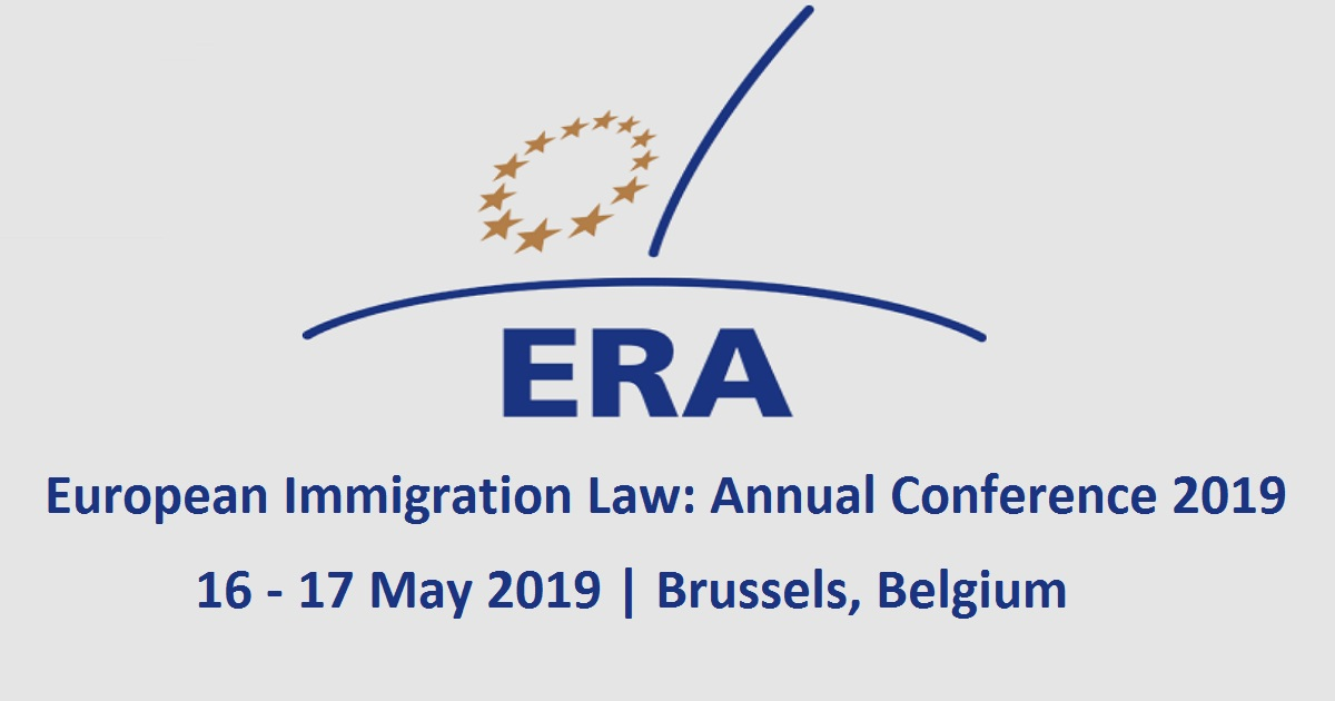 European Immigration Law: Annual Conference 2019