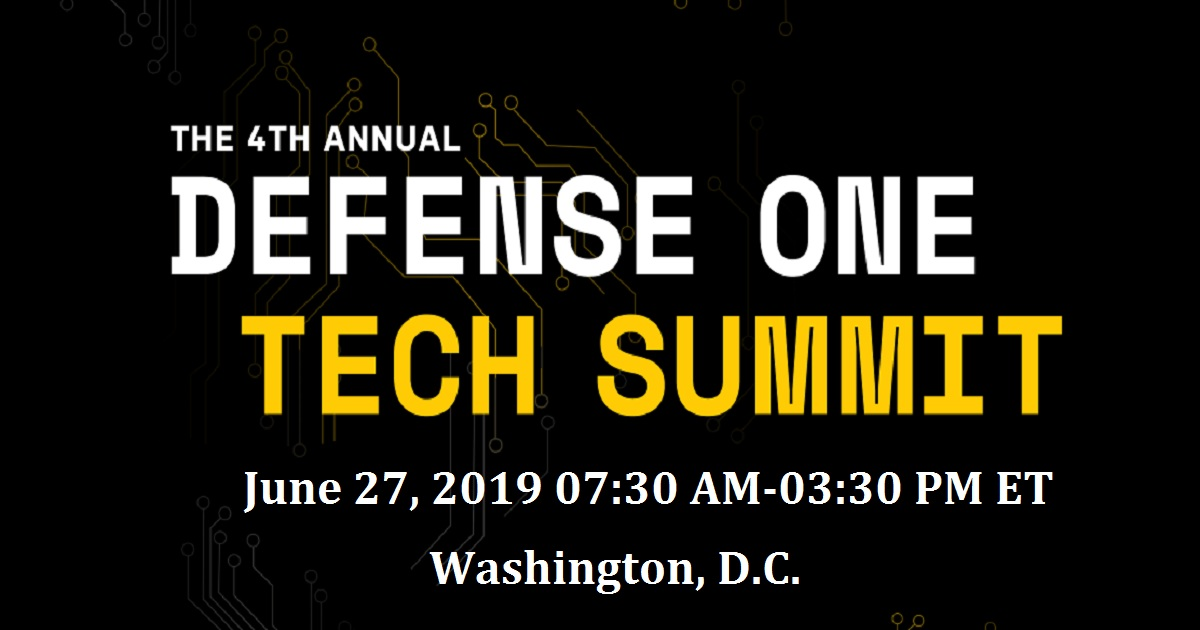 The 4th Annual Defense One Tech Summit