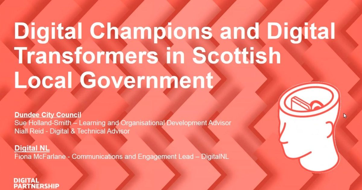 Digital Champions and Transformers in Scottish Local Government