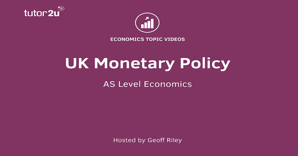 UK Monetary Policy