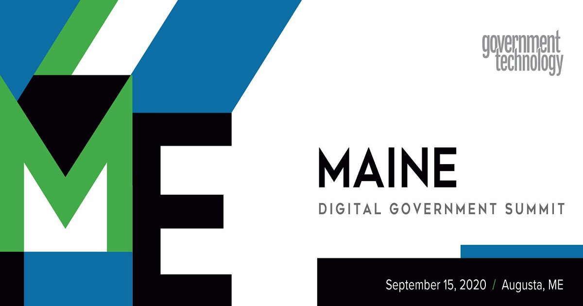 Maine Digital Government Summit 2020