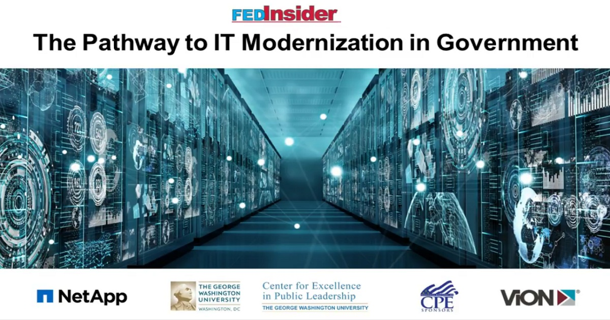 The Pathway to IT Modernization in Government