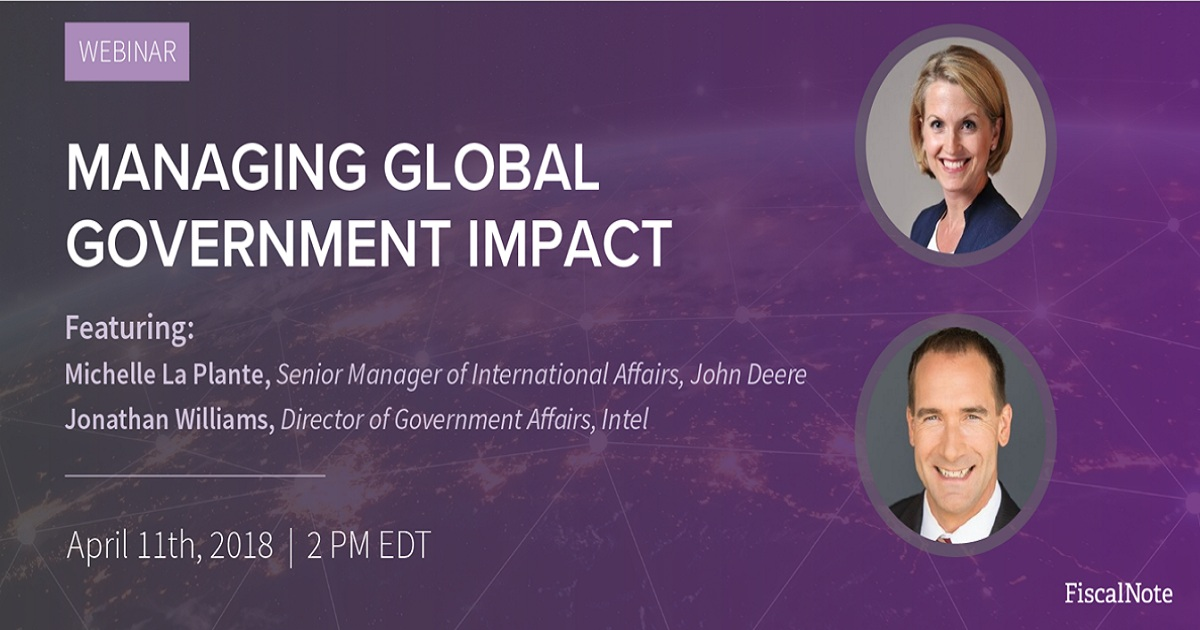 Managing Global Government Impact