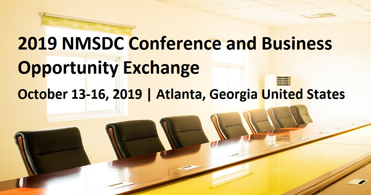 2019 NMSDC Conference and Business Opportunity Exchange