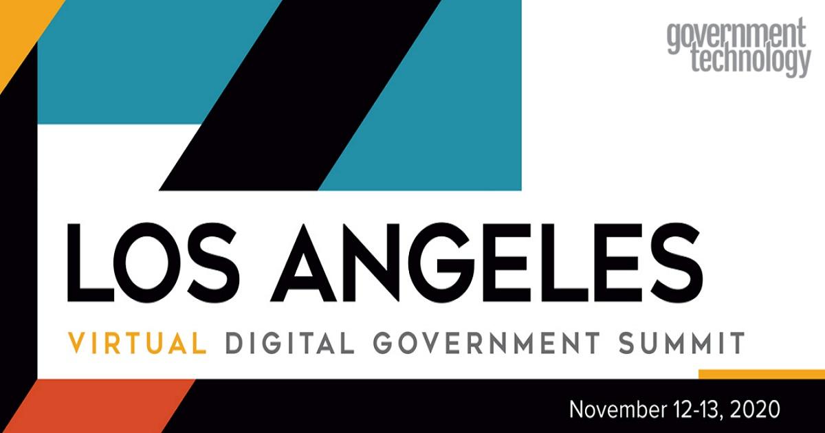 Los Angeles Virtual Digital Government Summit 2020