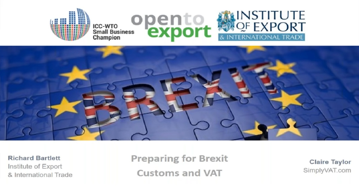 Preparing for No-Deal Brexit: Customs and VAT