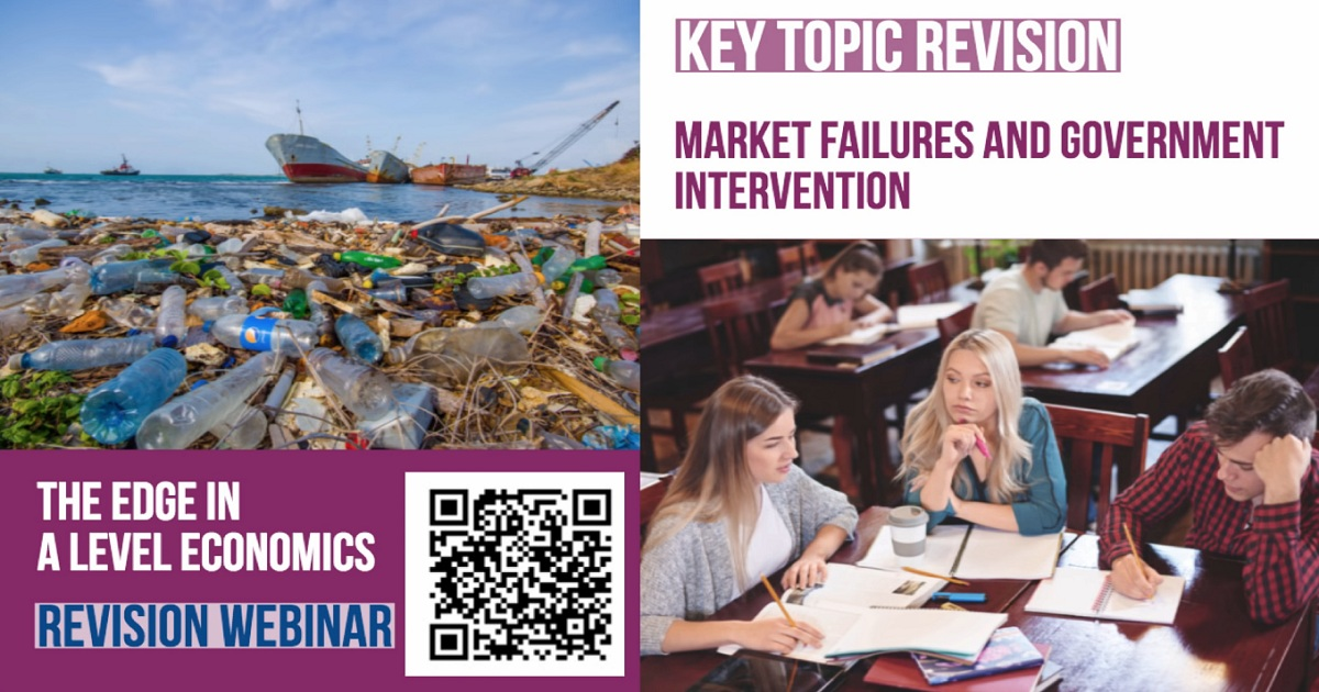 A Level Economics Revision: Market Failure & Government Intervention