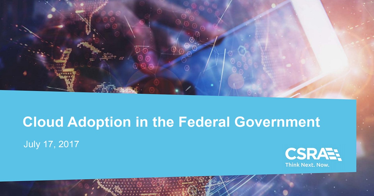 Cloud Adoption in the Federal Government