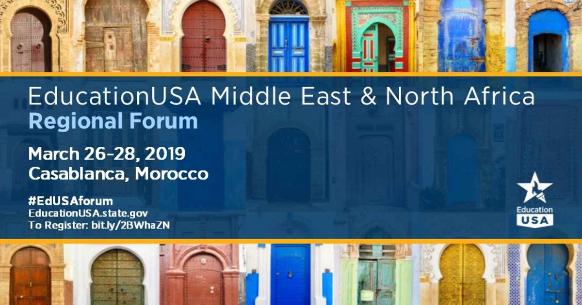 2019 EducationUSA MENA Regional Forum
