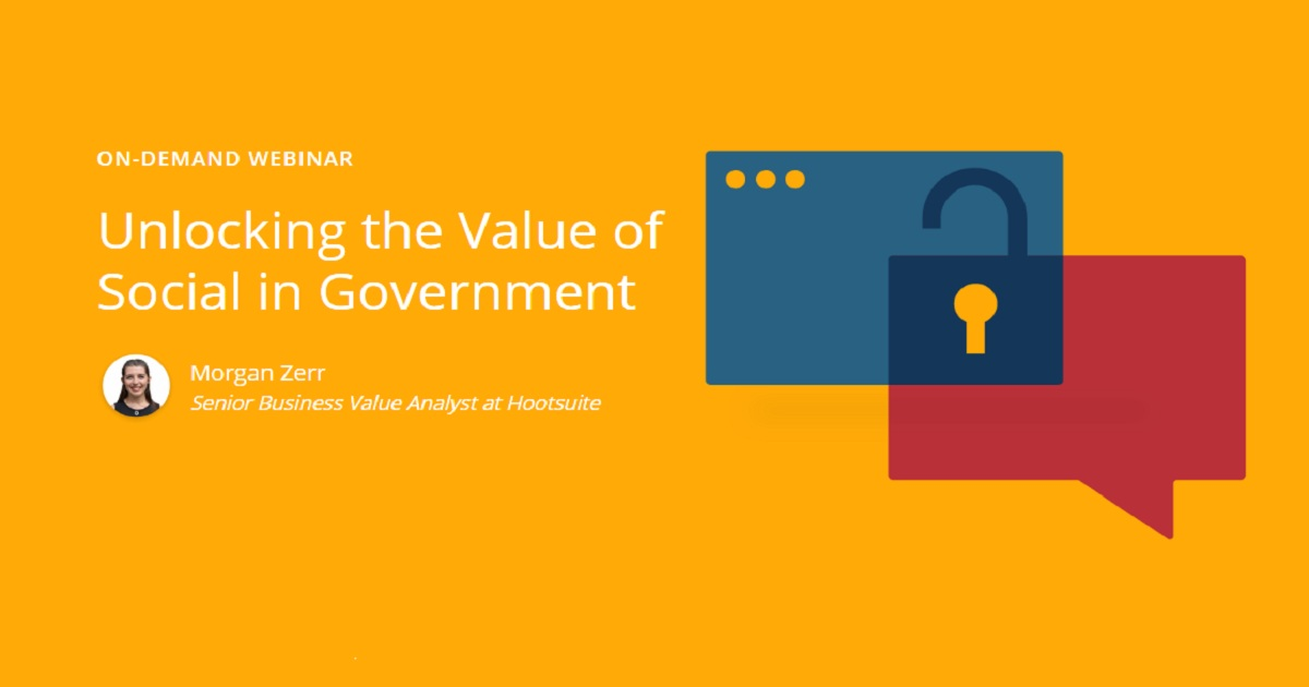 Unlocking the Value of Social in Government