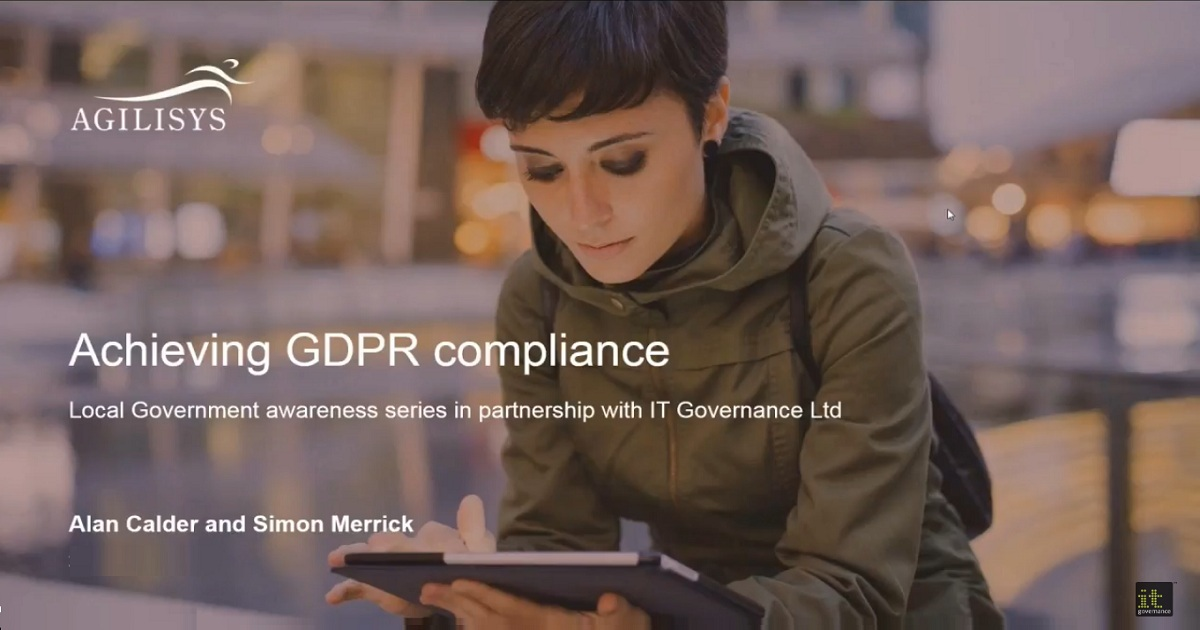 Achieving GDPR compliance in local government