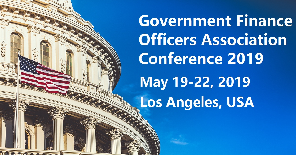 Government Finance Officers Association Conference 2019
