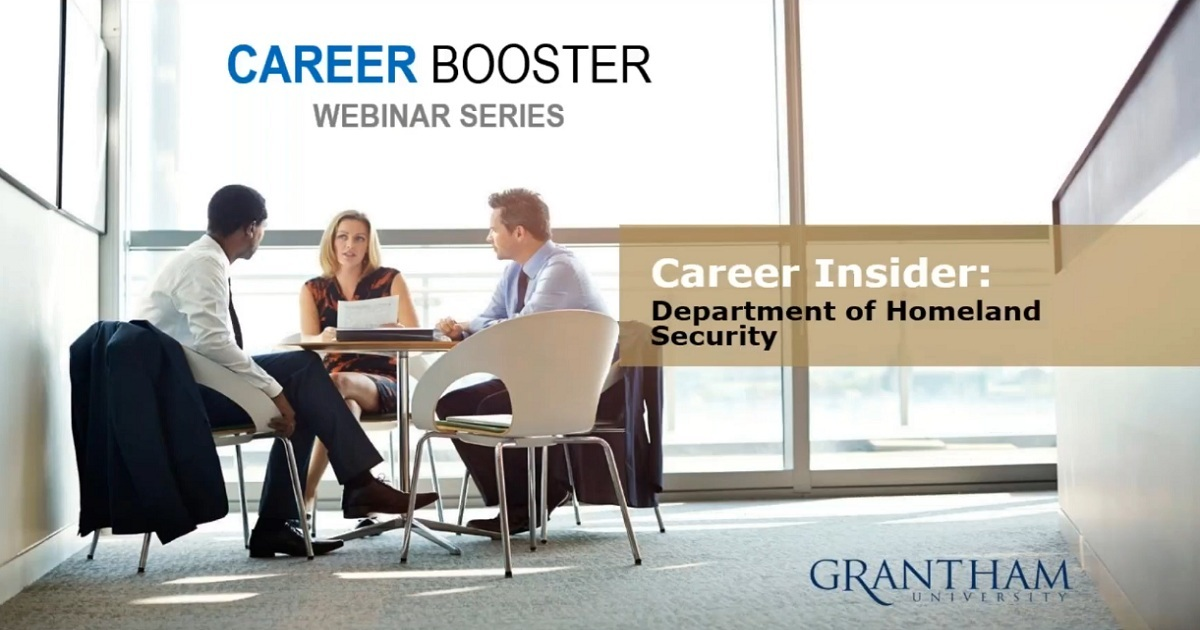 Career Insider: Department of Homeland Security