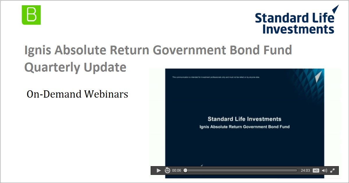Ignis Absolute Return Government Bond Fund Quarterly Update