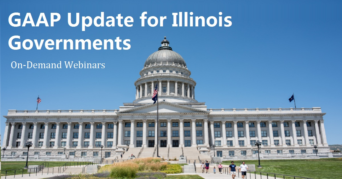 GAAP Update for Illinois Governments