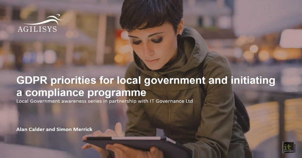 GDPR priorities for local government and initiating a compliance programme