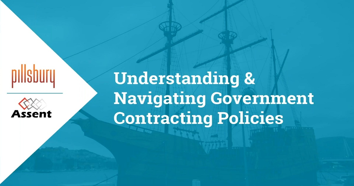 Understanding & Navigating Government Contracting Policies