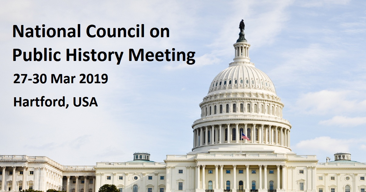 National Council on Public History Meeting