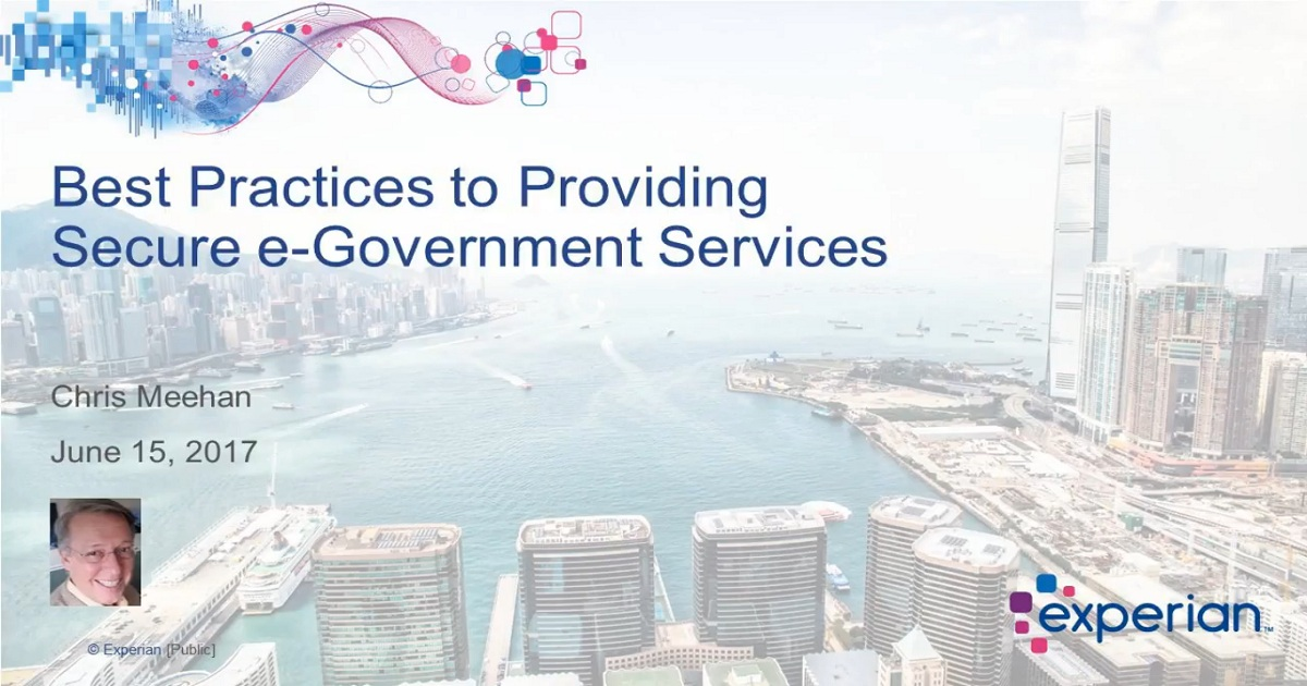 Best Practices: Providing Secure e-Government Services