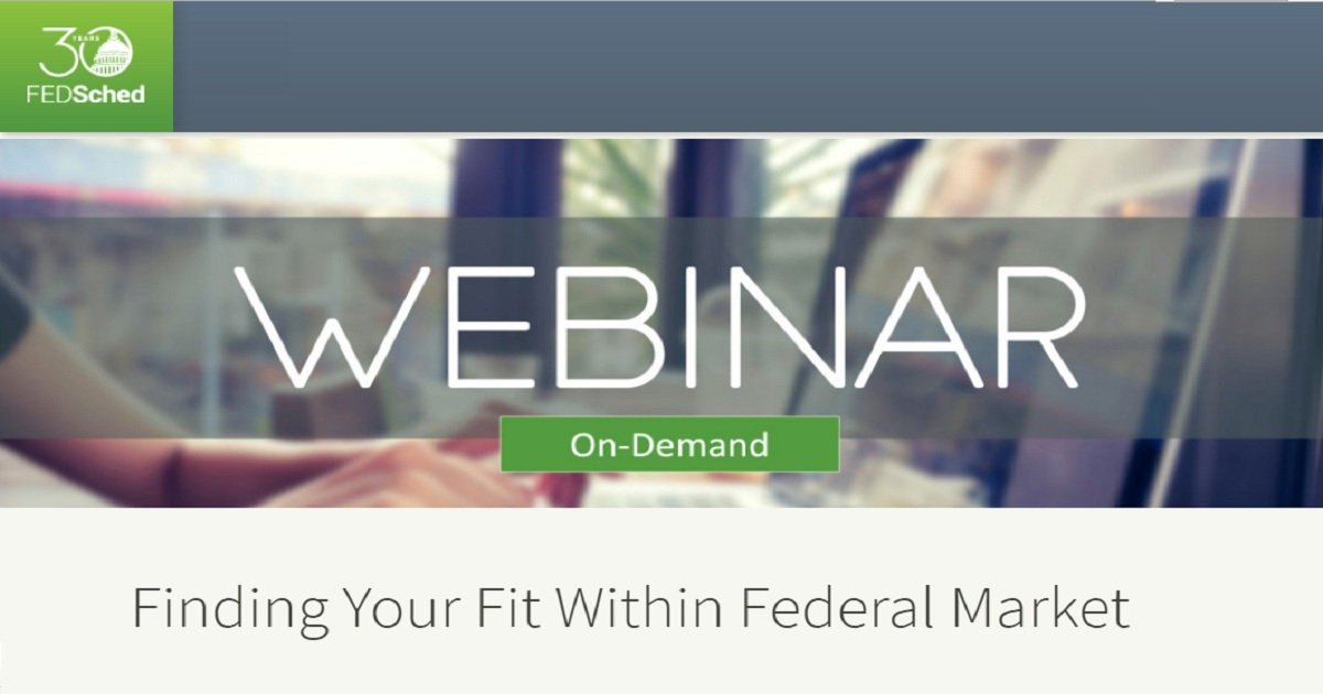 Finding Your Fit Within Federal Market