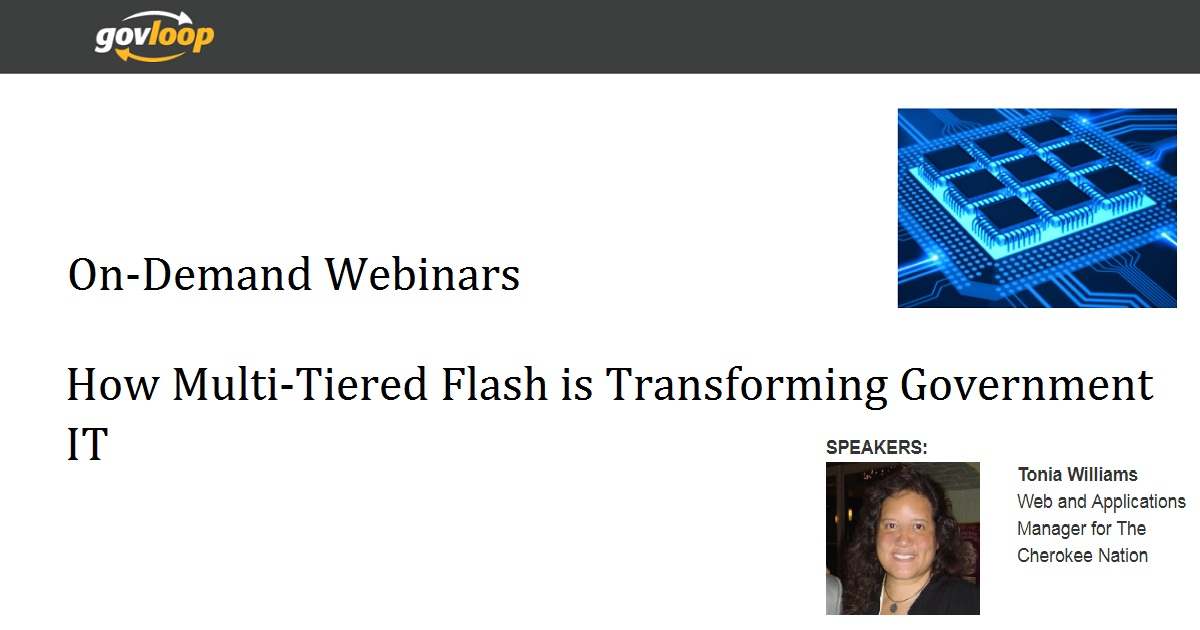 How Multi-Tiered Flash is Transforming Government IT
