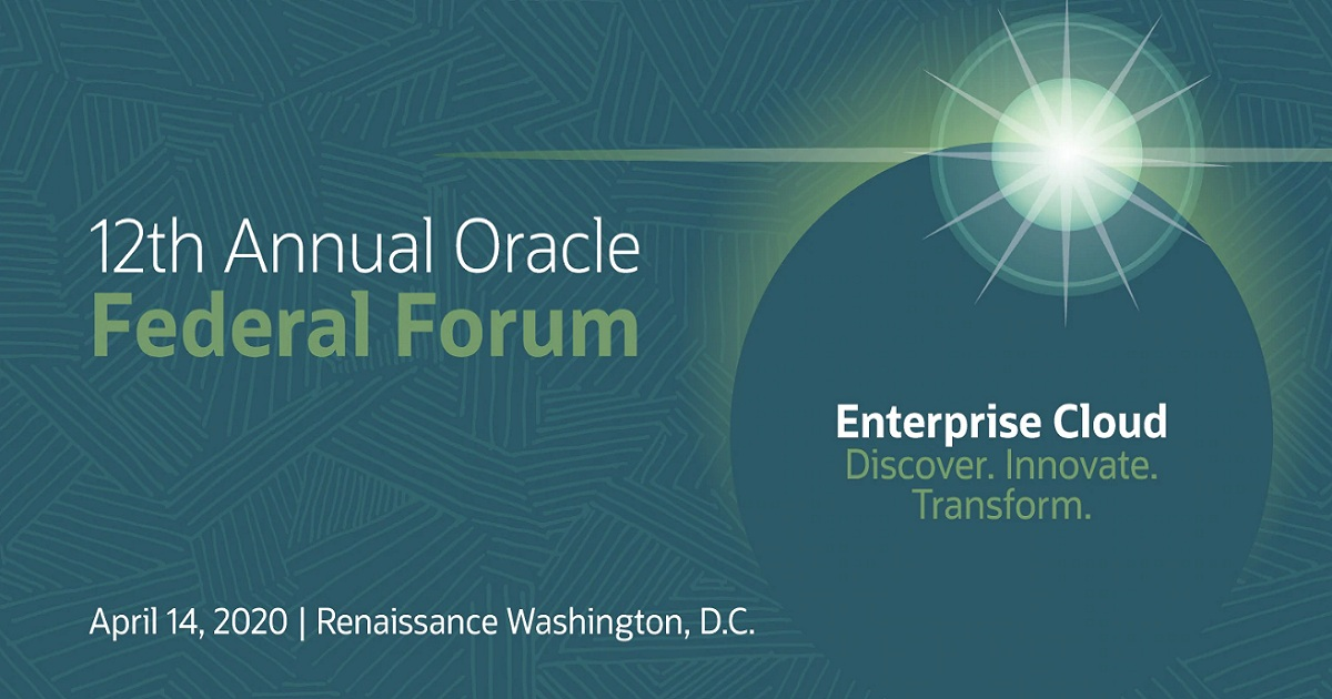 12th Annual Oracle Federal Forum