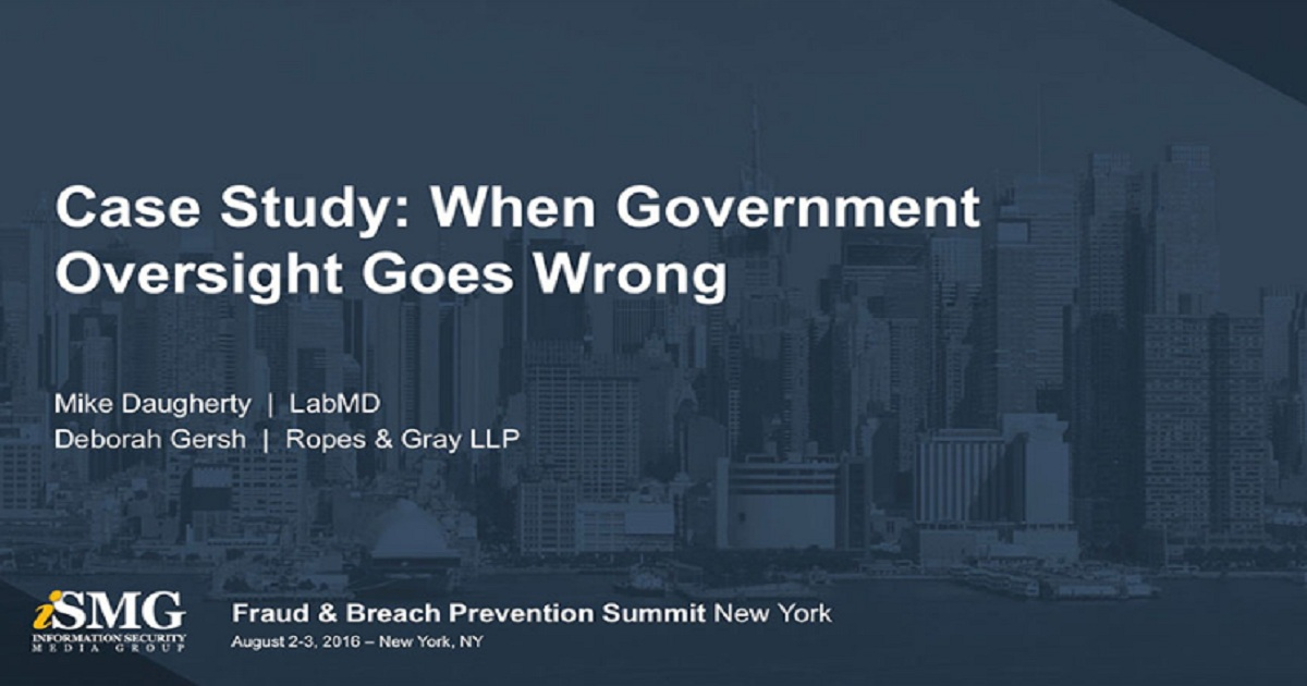Case Study: When Government Oversight Goes Wrong