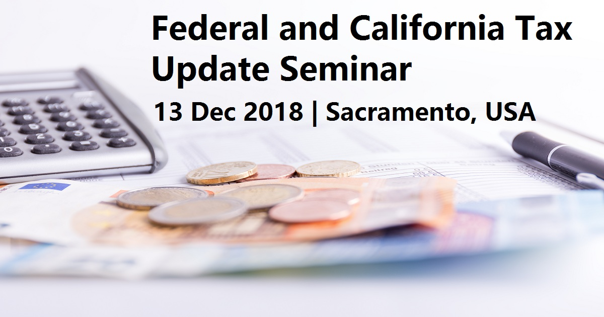 Federal and California Tax Update Seminar