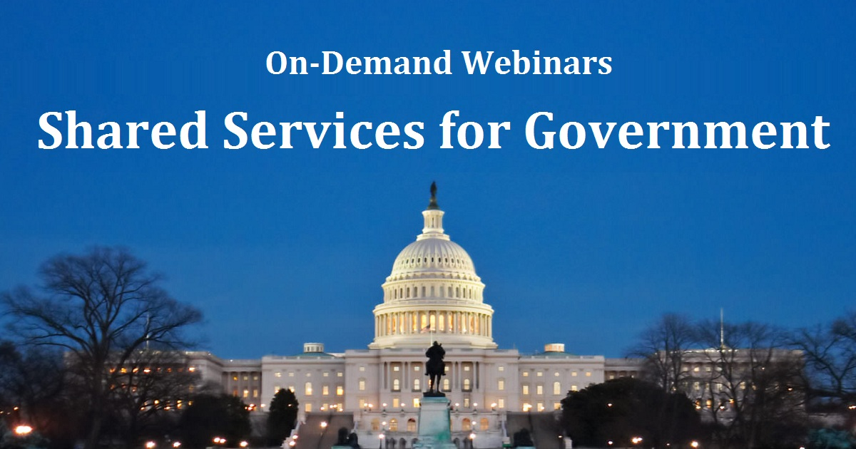 Shared Services for Government