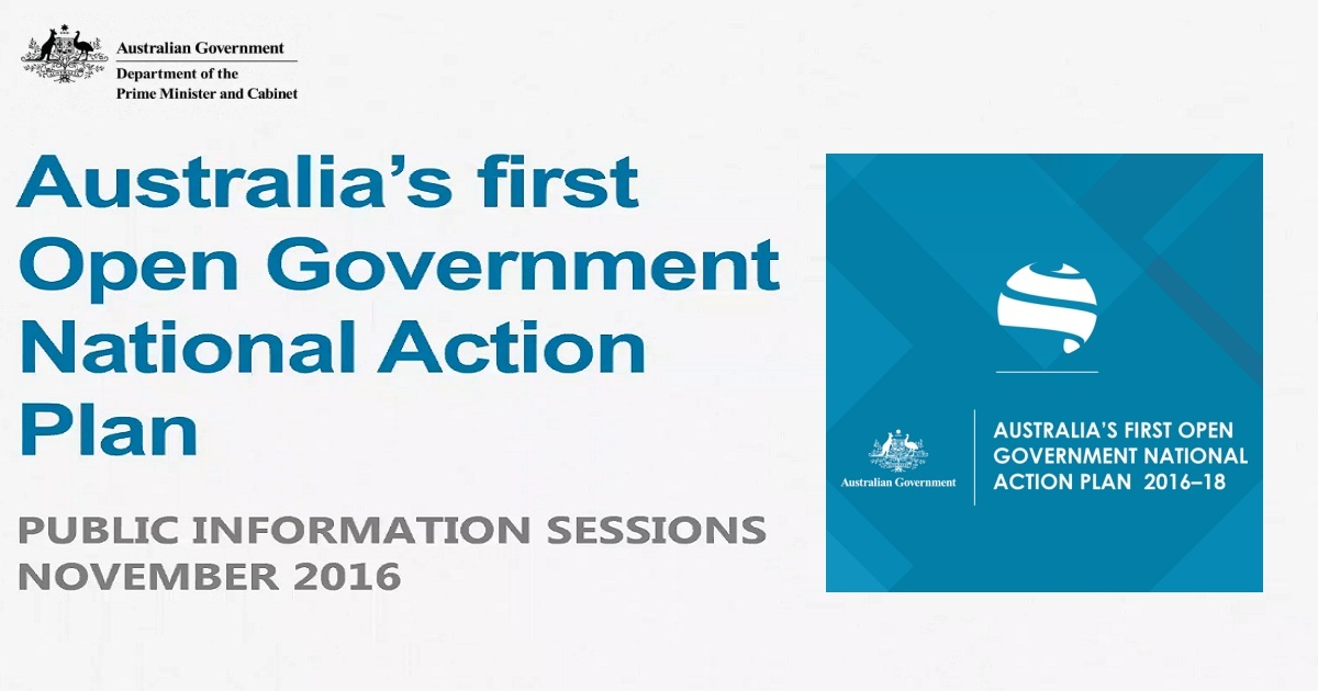 Australian Open Government National Action Plan