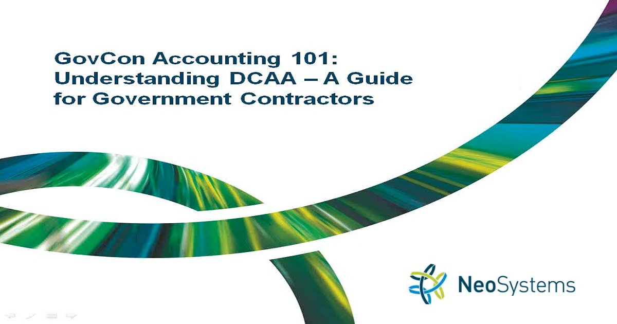 Understanding DCAA - A Guide for Government Contractors