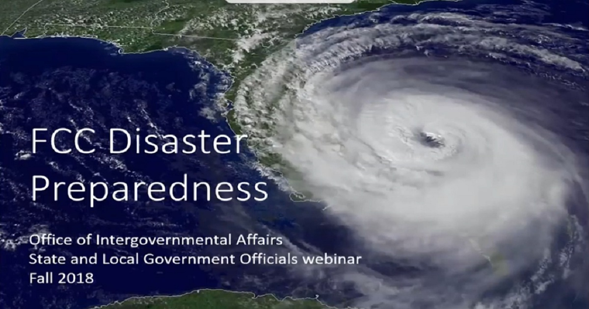 FCC Disaster Preparedness: State & Local Government Officials