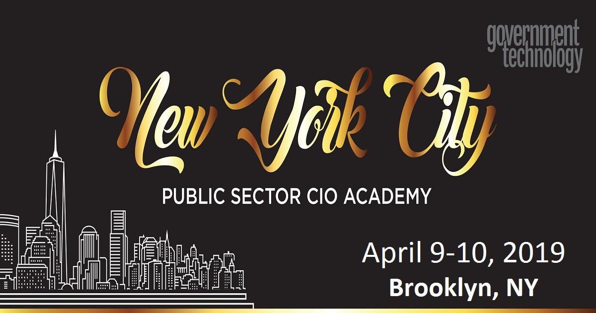 New York City Public Sector CIO Academy 2019