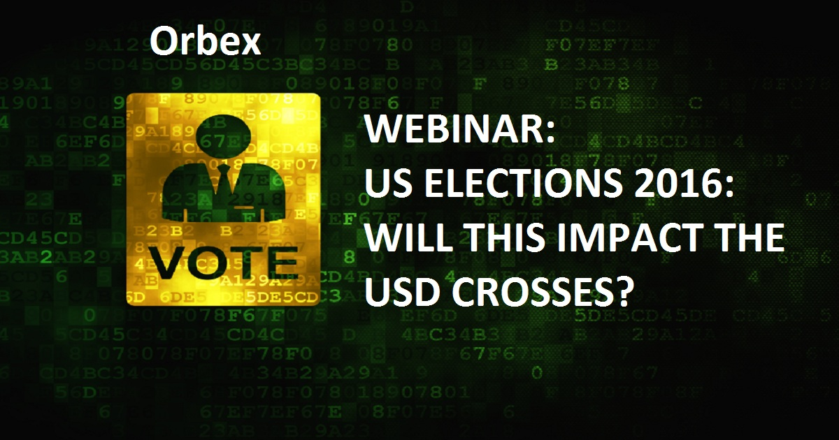 US ELECTIONS 2016: WILL THIS IMPACT THE USD CROSSES?