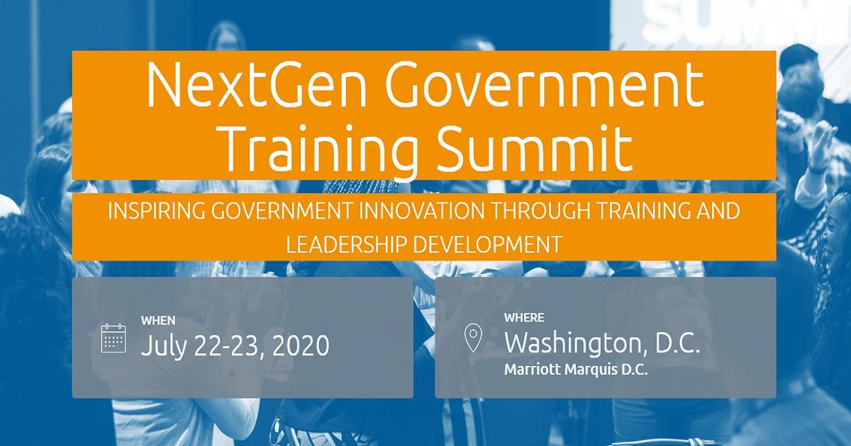 NextGen Government Training Summit