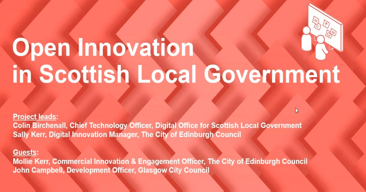 Open Innovation in Scottish Local Government