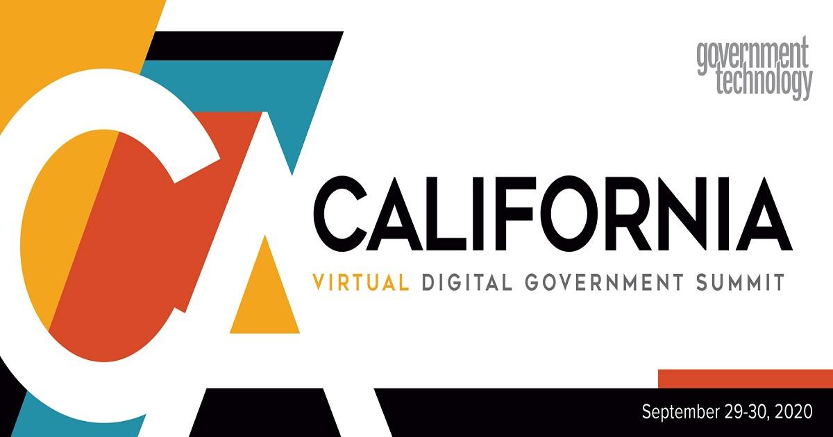 California Digital Government Summit 2020