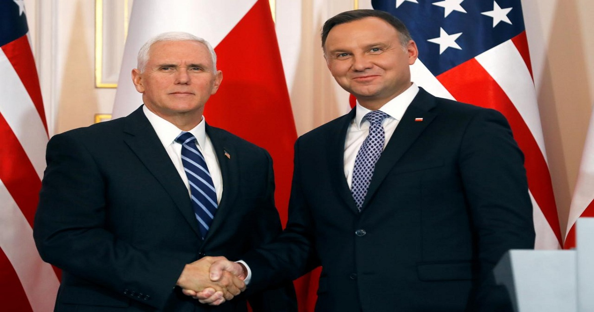 Pence praises Poland's actions on Huawei as U.S. pressure mounts