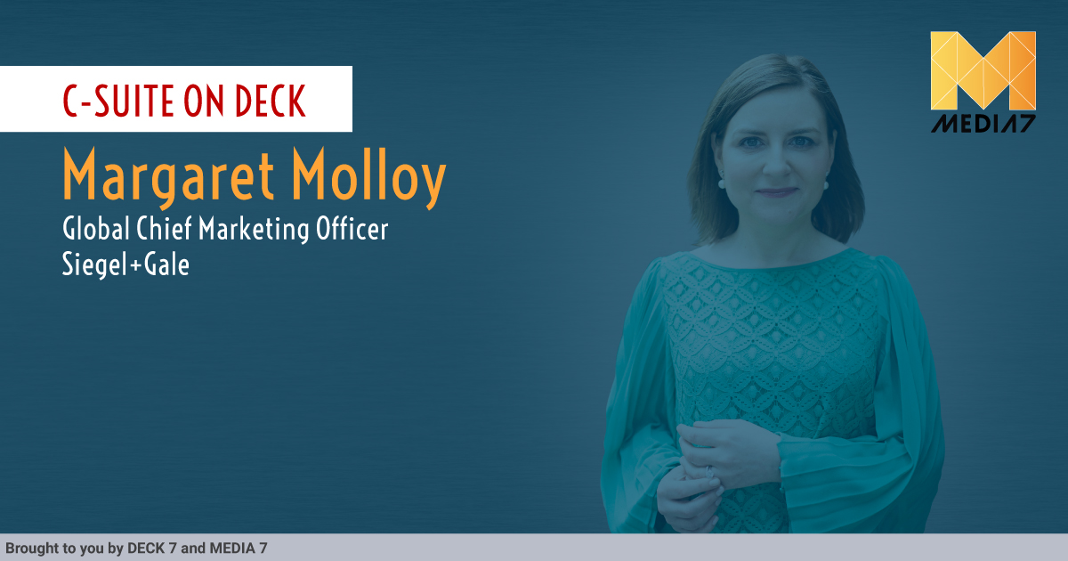 Q&A with Margaret Molloy, Global CMO, Siegel+Gale