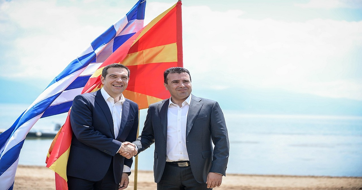 WHAT DOES NORTH MACEDONIA'S NAME CHANGE HAVE TO DO WITH NATO?