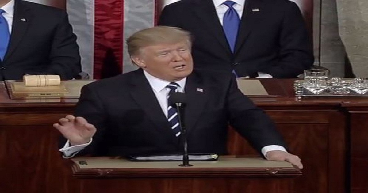 AFTER DELAY, PRESIDENT TRUMP TO GIVE STATE OF THE UNION ON FEBRUARY 5