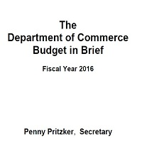 THE DEPARTMENT OF COMMERCE BUDGET IN BRIEF