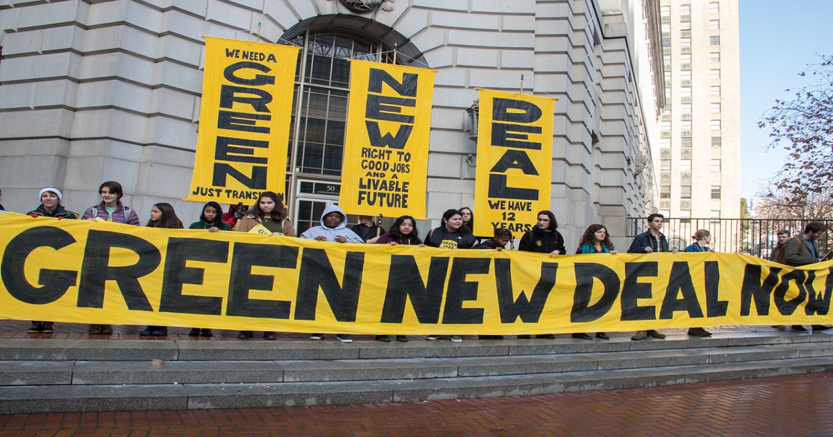 IT'S TIME TO DEMILITARIZE OUR BUDGET TO FIGHT CLIMATE CHANGE